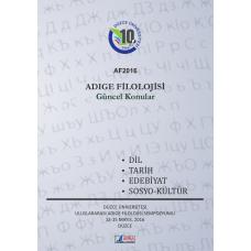 Adıge Filolojisi / Güncel Konular